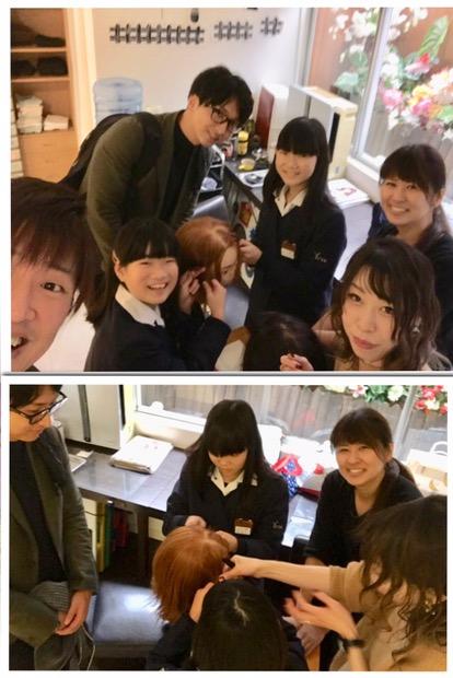 熊野小学校 職場体験
